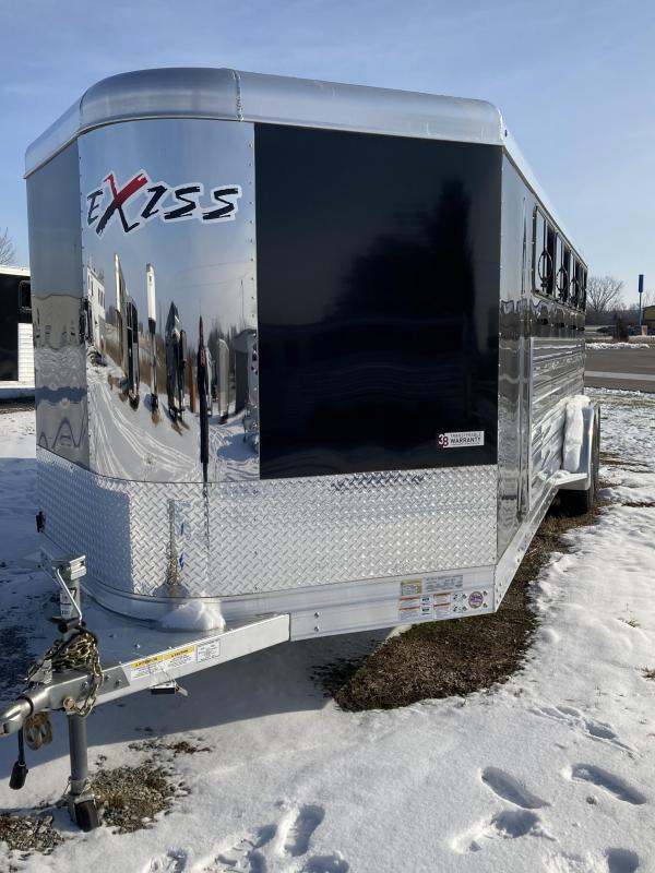2020 Exiss Trailers Exiss Exhibitor 720 Livestock Trailer