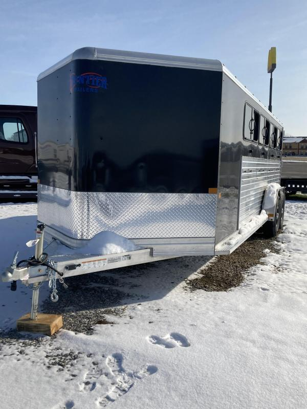 2020 Frontier Stock Low Pro 7x20 Livestock Trailer