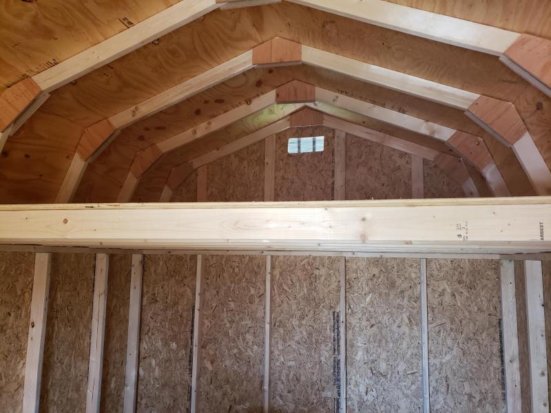 2021 Amish Built Lofted Barn                10 x 16