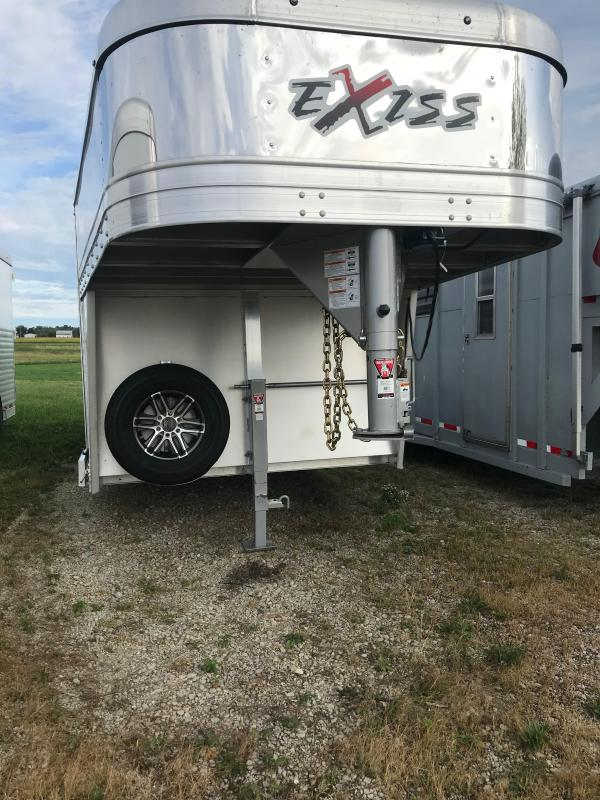 2020 Exiss Trailers Exhibitor 7020A Livestock Trailer