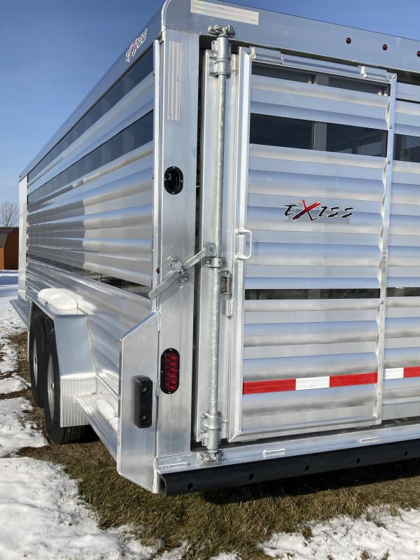 2020 Exiss Trailers Exhibitor Livestock Trailer