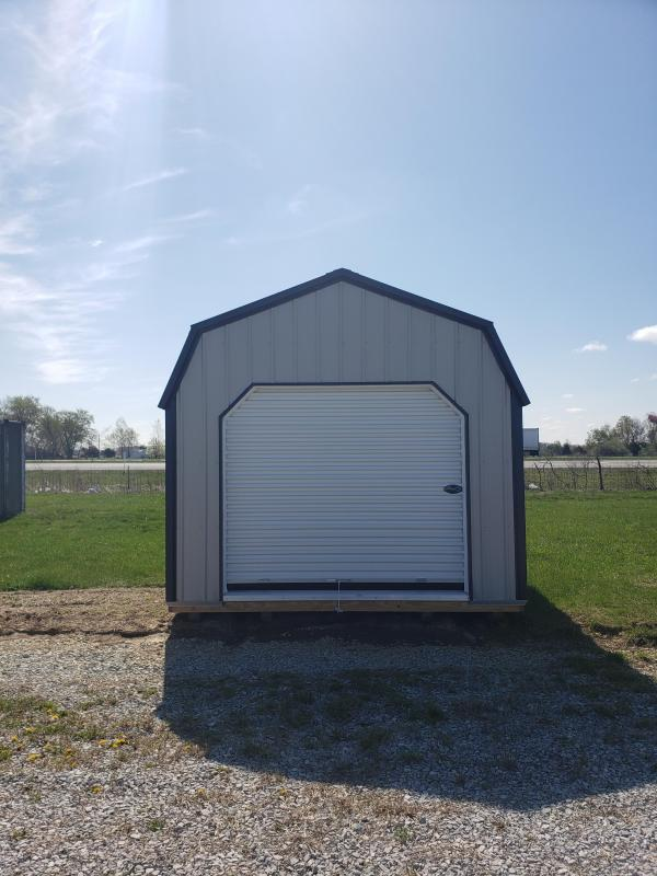 2020 12x32 Lofted Barn Garage *Metal*
