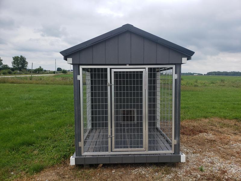 2021 Amish Built Dog Kennel                                      6 x 10    Barn