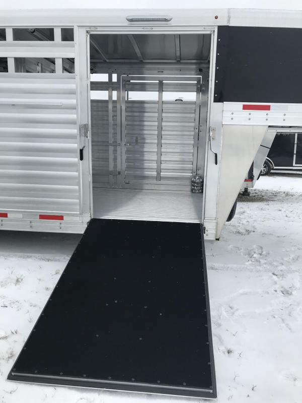 2019 Exiss STK 8024 Cattle Trailer