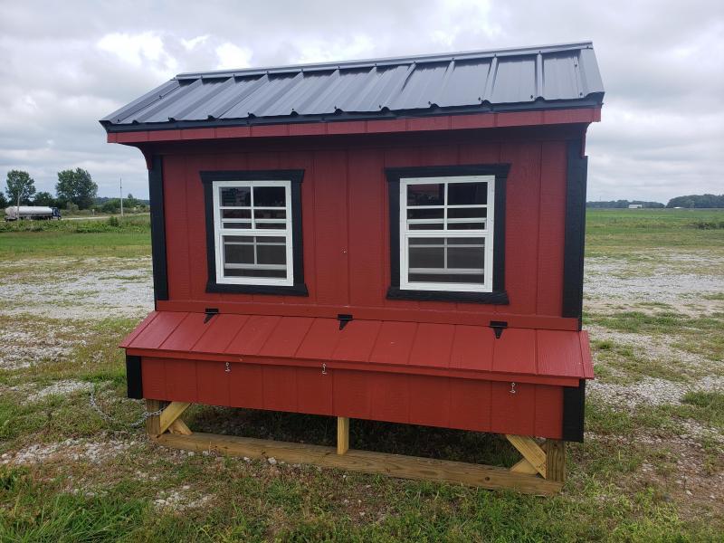 2021 Amish Built Chicken Coop                              6 x 8