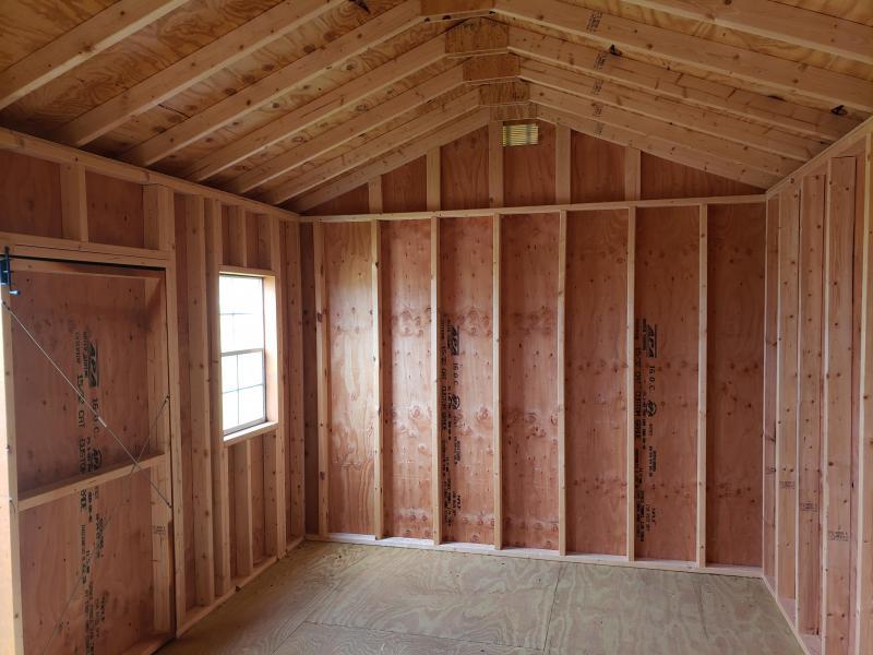2021  Amish Built  Side Utility Barn       10 x 16