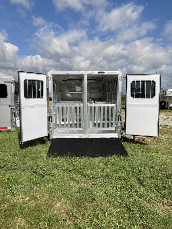2021 Exiss Trailers Exiss Exhibitor 716W BP Livestock Trailer