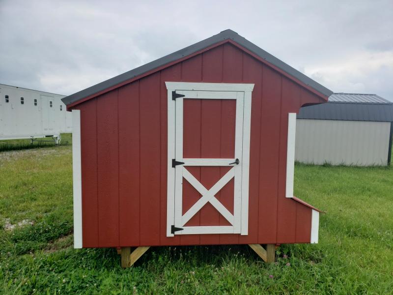 2021 Amish Chicken Coop 8 x 10