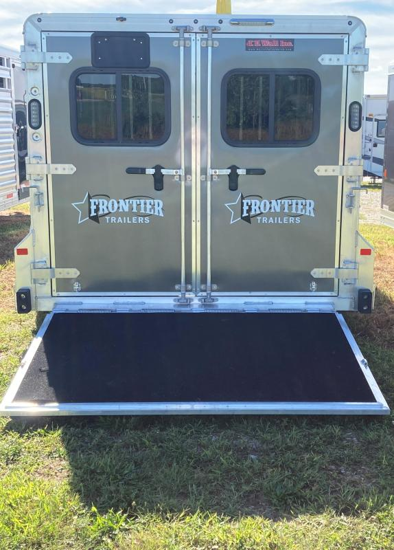 2021 Frontier 716DDFW Livestock Trailer