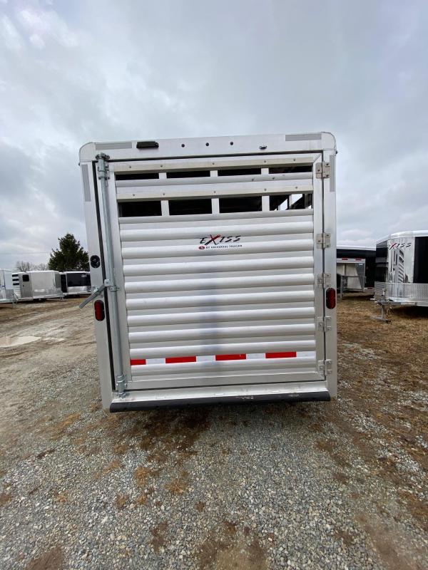 2020 Exiss Trailers Express 3h GN CXF Livestock Trailer