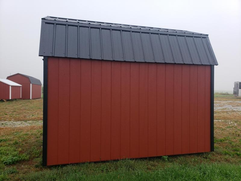 2021 Amish Built Lofted Barn                             8 x12