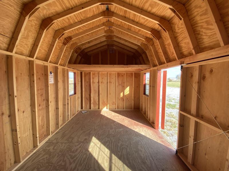 2019 10x18 Side Lofted Barn