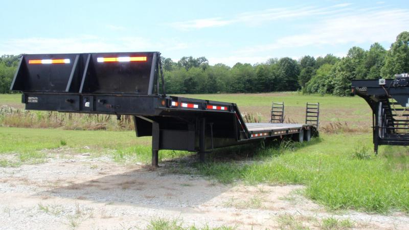 1998 LEDWELL AIR RIDE 53 FT STEP DECK WITH DOVE TAIL AND RAMPS