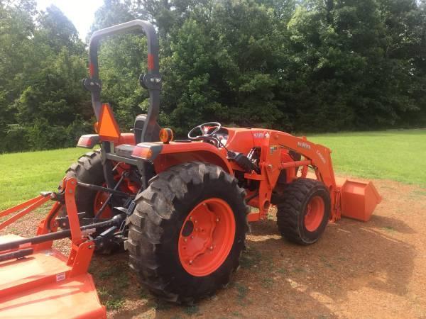 2017 Kubota MX5200 4WD Tractor