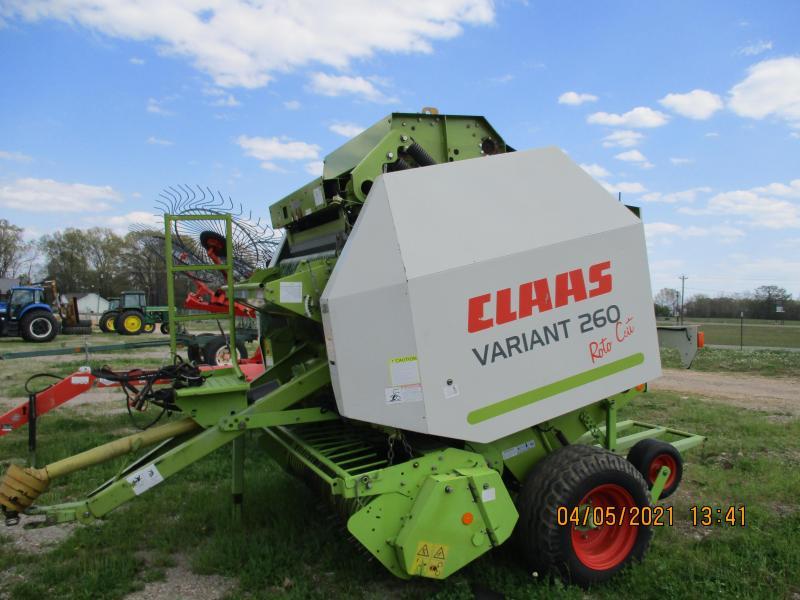 2013 CLAAS Variant 260 Roto Cut Baler