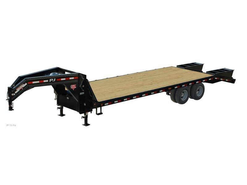 2019 PJ Trailers 40' GN Classic Flatdeck with Duals (FD) Flatbed Trailer