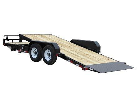 2021 PJ Trailers 24x6 in. Channel Equipment Tilt (T6) Equipment Trailer