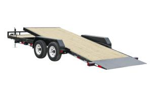 2021 PJ Trailers 22'x5 in. Channel Tilt Carhauler (T5) Car / Racing Trailer