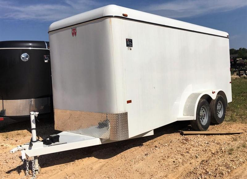 2017 W-W Trailer CC 16X6 (2-3500) Enclosed Cargo Trailer