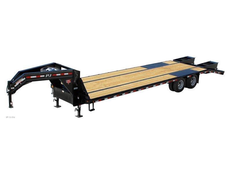 2021 PJ Trailers 30' GN Low-Pro Flatdeck with Duals (LD) Flatbed Trailer