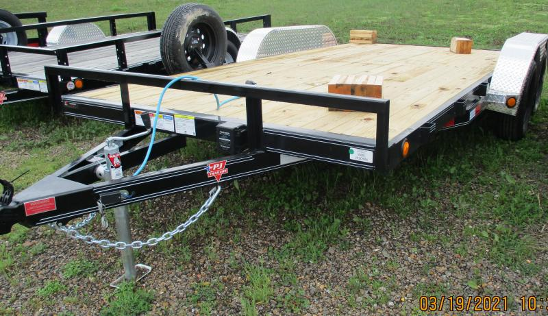 "2021 (C4-16) PJ Trailer BP 16'x4"" Channel Carhauler"