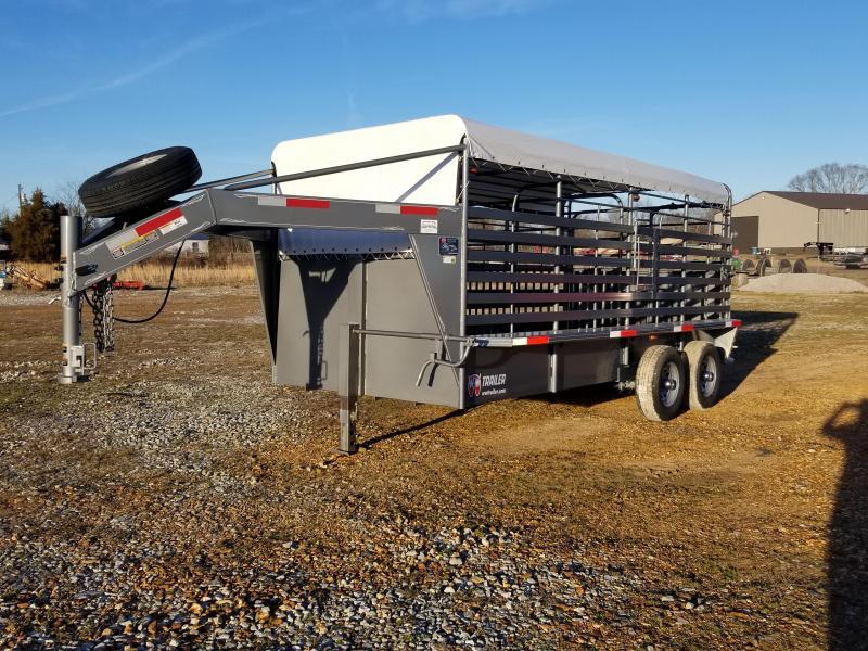 2021 W-W Livestock Systems RS Livestock Trailer