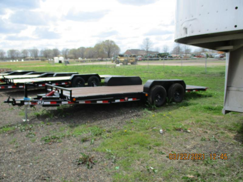 "2019 PJ Trailers 20'X83"" Hydraulic Quick Tilt (TH) Equipment Trailer"