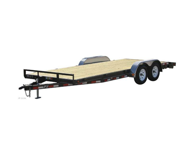 "2020 PJ Trailers 20'X5"" Channel Carhauler (C5) Car / Racing Trailer"