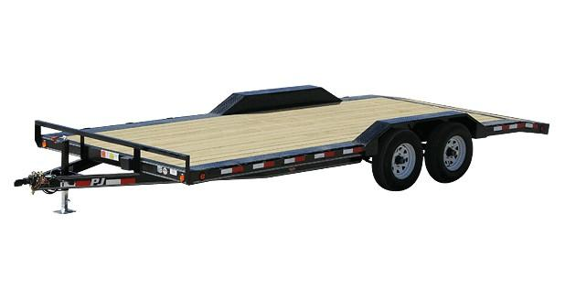 2021 PJ Trailers 18' BP 5 in. Channel Buggy Hauler (B5) Car / Racing Trailer