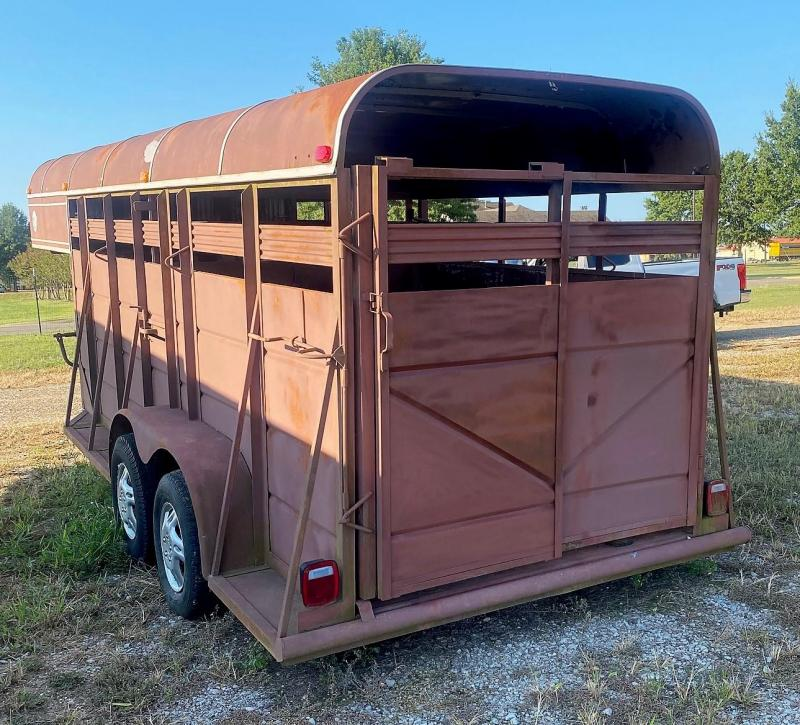 1985 Other STOCK Livestock Trailer