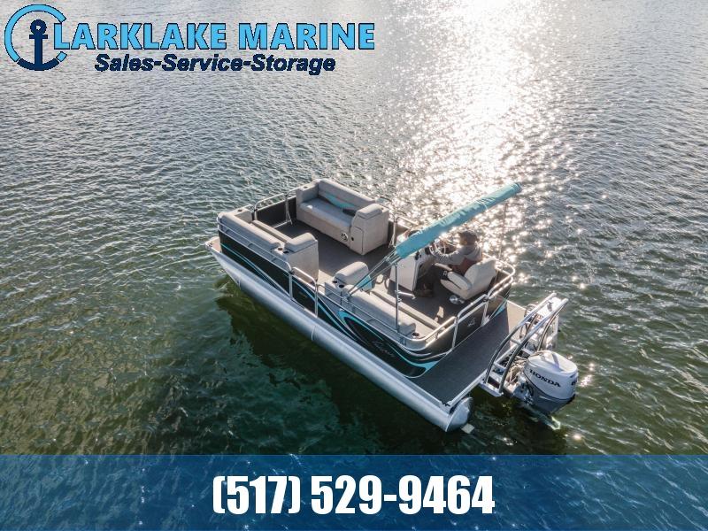 2021 Qwest Edge 818 CTR Pontoon Boat