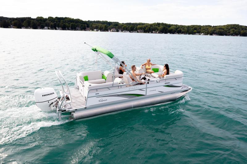 2021 Qwest LS 818 RLS Pontoon Boat