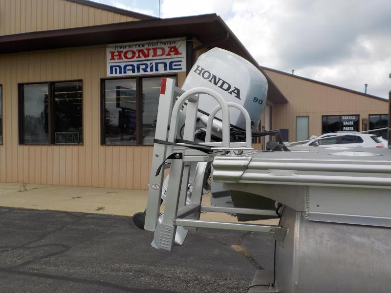 2021 Apex Marine Angler Qwest 820 Fish N Cruise Pontoon Boat