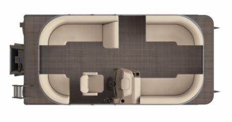 2021 Starcraft LX 18 R Pontoon Boat