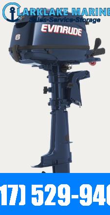2018 Evinrude 6HP Outboard Motor