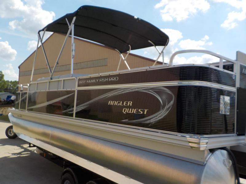 2020 Angler Qwest 822 Family Fish Pro Pontoon Boat