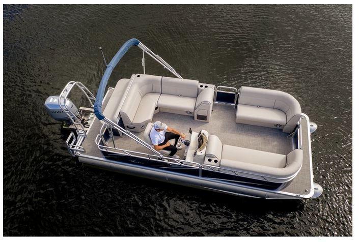 2021 Qwest LE 820 Lanai Pontoon Boat