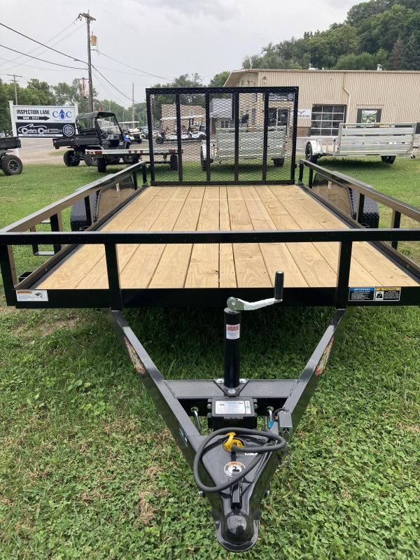 2021 H and H Trailer H8214TRS-070 Utility Trailer