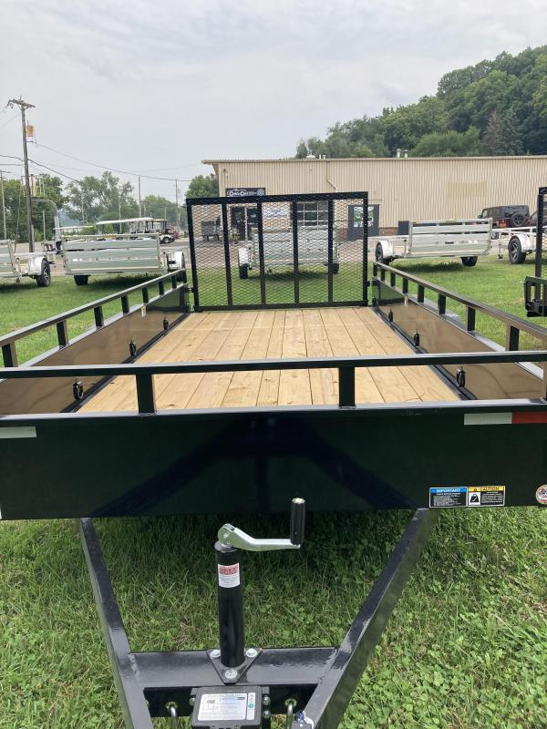 2021 H and H Trailer H8216TSS-070 Solid Side Utility Trailer