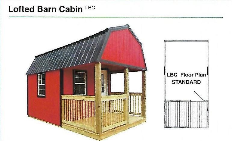 2020 Premier Lofted Barn Cabin