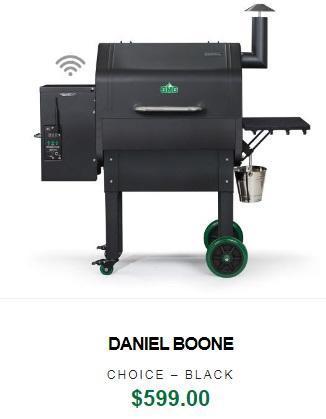 Green Mountain Daniel Boone Choice WiFi Grill