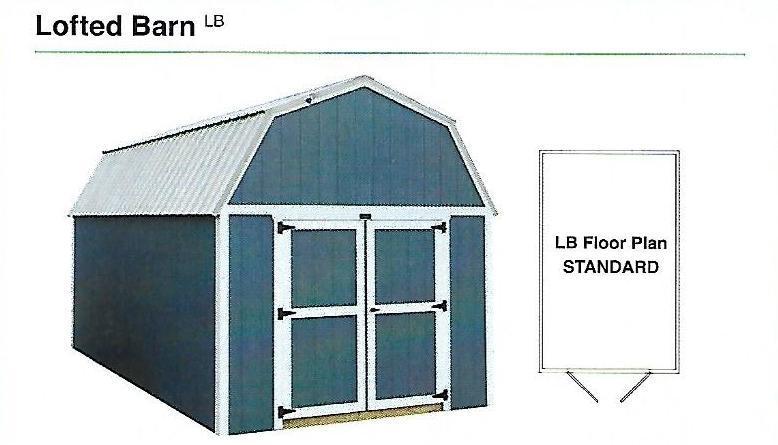 2020 Premier Lofted Barn