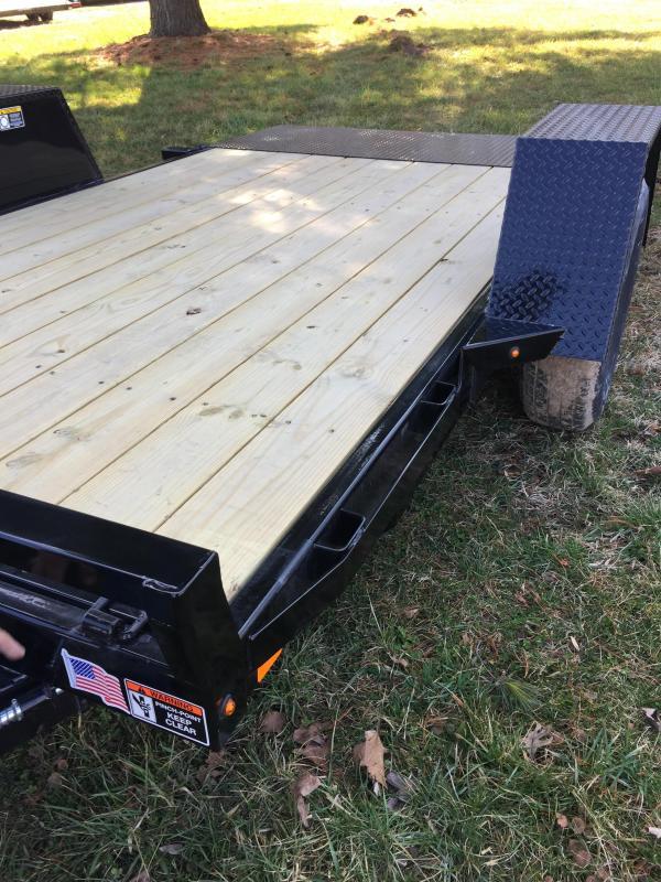 2020 H and H Trailers H7812GTL-078 78 x 12 Gravity Tilt 7.8K Equipment Trailer
