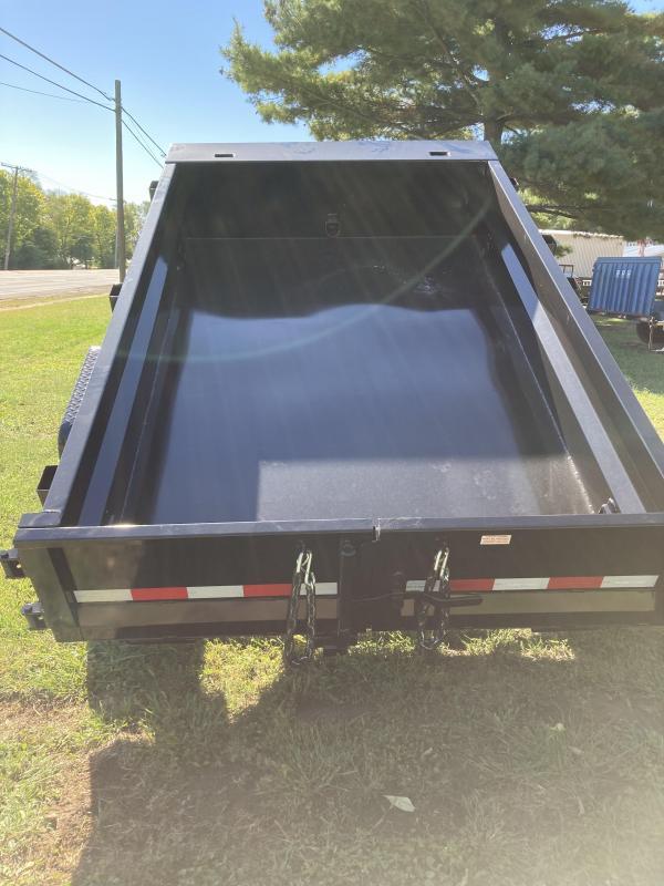 2022 Sure-Trac 5 x 8 Low Profile Homeowner Dump Trailer 5K Single Ram