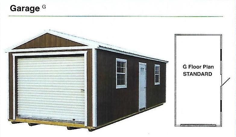 2020 Premier Garage Garage/Carport