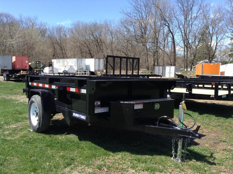 2021 Sure-Trac 62in x 10 LProfile Dump 7K Single Ram