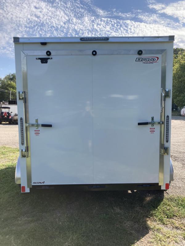 2021 Bravo Trailers 7X10 Tandem Axle Enclosed Cargo Trailer