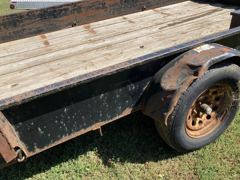 2007 H and H Trailer 8.5x12 Solid Side Utility Utility Trailer