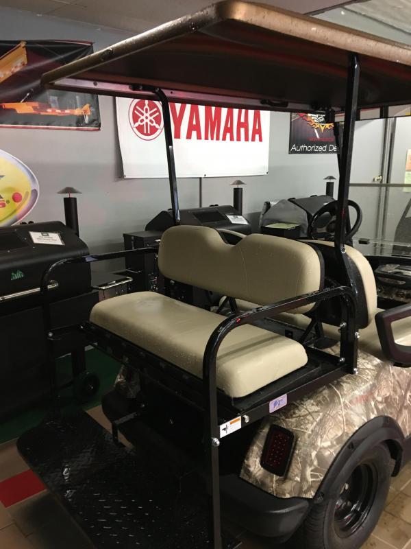 2013 Yamaha Drive YDRE 4 Seat Golf Cart