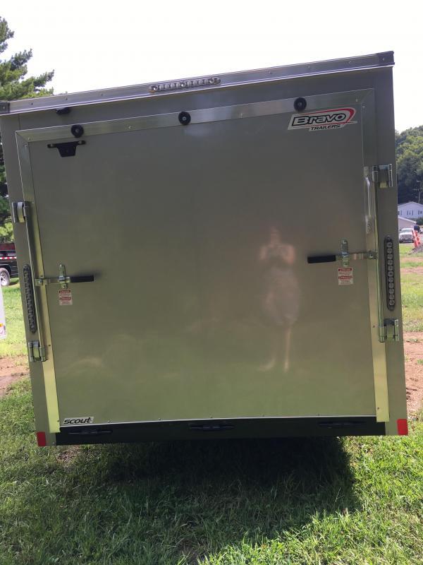 2020 Bravo Trailers SC712SA Enclosed Cargo Trailer
